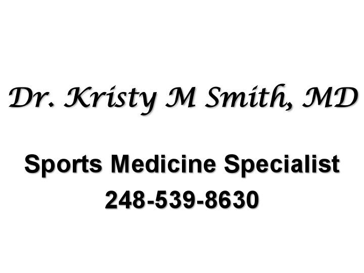 Kristy Smith M.D.