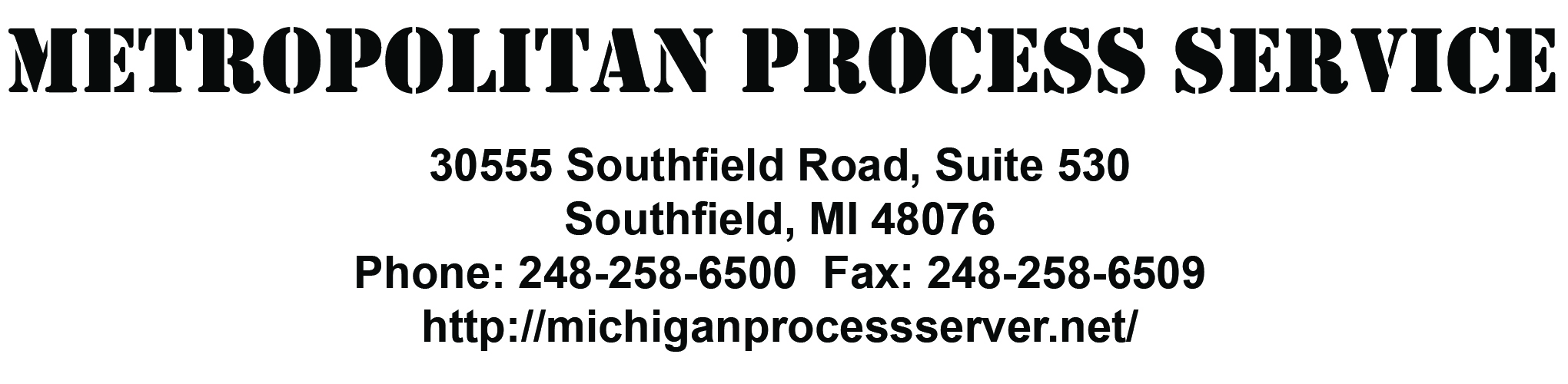 Michigan Process Server